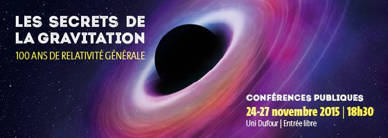Conférences sur l'astronomie du mois de Novembre 2015 à Genève. Bandea10