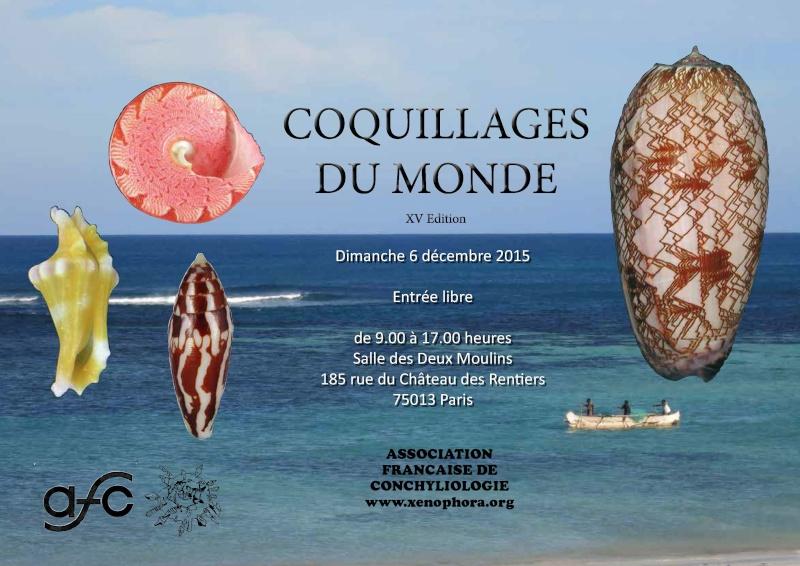 2015 Mini bourse de Paris 6 décembre Affich10