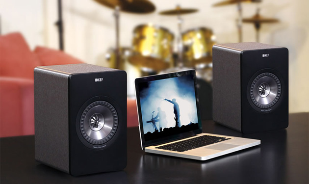 Proposta 700€: HiFi - Wifi compatto per musica liquida, PC, TV (Spotify, Netflix, Youtube, ...)   Kef_x311