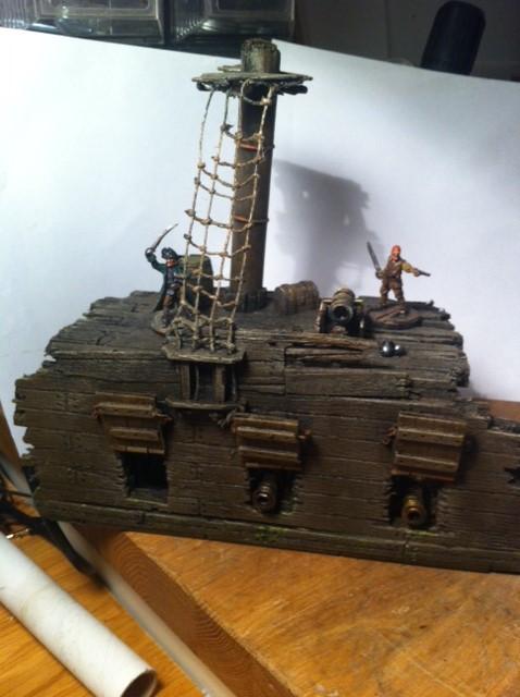 Tutorial décors :Great war, Old West, Pirates, divers... - Page 5 Pirat_10