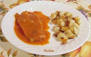 Filet de poisson en sauce tomate toute simple Filet_10