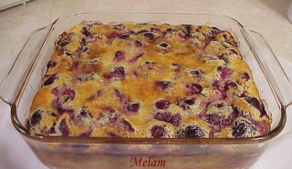 Pouding aux pommes ou aux cerises Poudin11