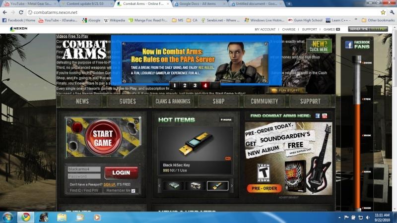Content update 9/21/10 Combat10