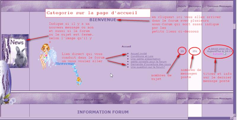 comment le forum est constituer et/ou disposé?? Catego10
