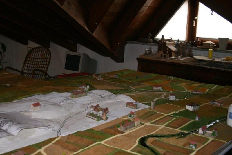 Il diorama della battaglia di Montebello - 20 maggio 1859 (WORK-in-PROGRESS) Il_dio11