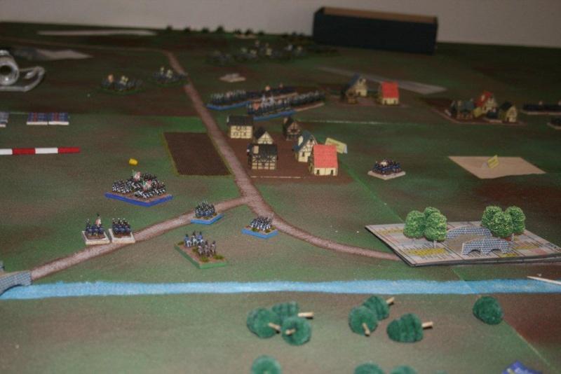 Diorama della battaglia di Lutzen - 2 maggio 1813 (working progress) La_bat11