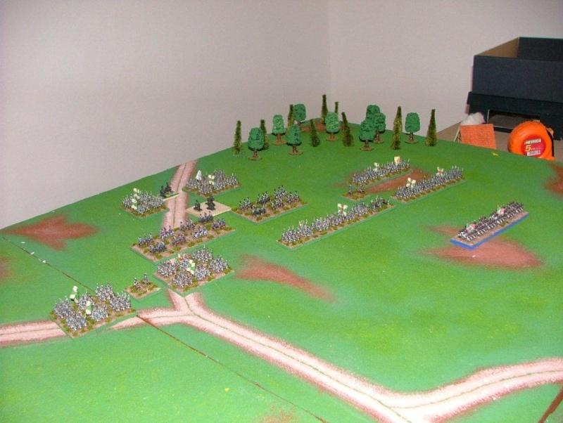 Diorama della battaglia di Lutzen - 2 maggio 1813 (working progress) La_bat13