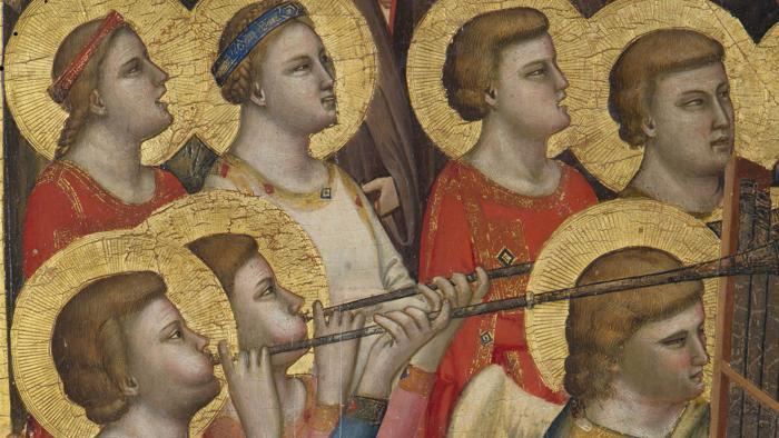 La musique dans la peinture - Page 9 Giotto10