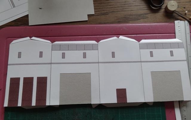 Industriediorama mit Hafen, 1:87 Dsc03811