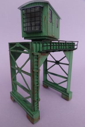 Industriediorama mit Hafen, 1:87 Dsc03817