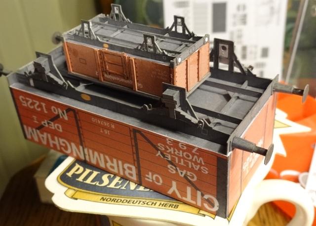 Industriediorama mit Hafen, 1:87 Dsc04918