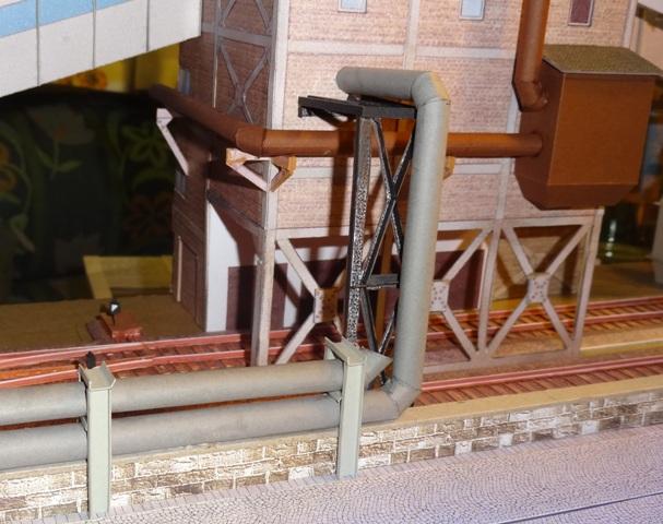 Industriediorama mit Hafen, 1:87 Dsc05212