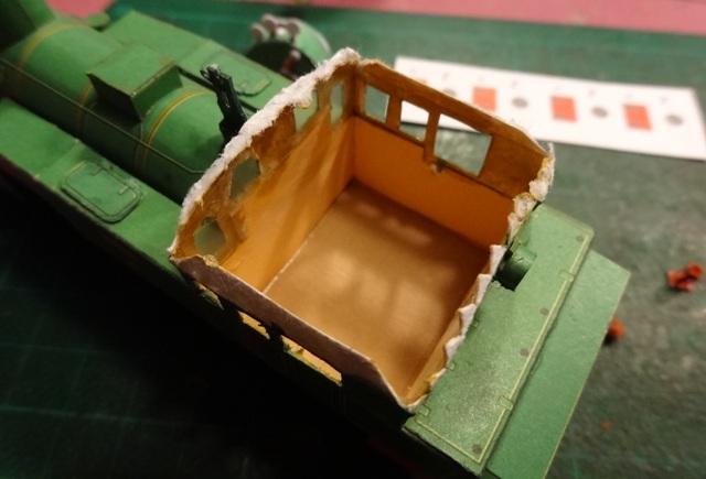 Industriediorama mit Hafen, 1:87 Dsc05317