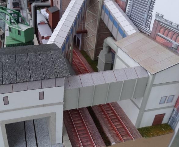 Industriediorama mit Hafen, 1:87 Dsc05333