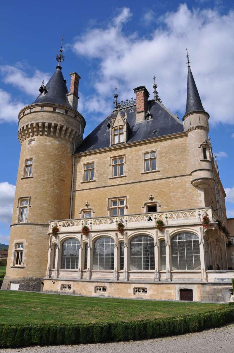 Le château de Cornod et ses jardins Dsc_0611