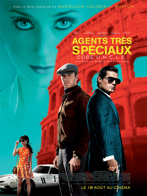 Agents très spéciaux. The Man from U.N.C.L.E. 2015. Guy Ritchie.  10125710