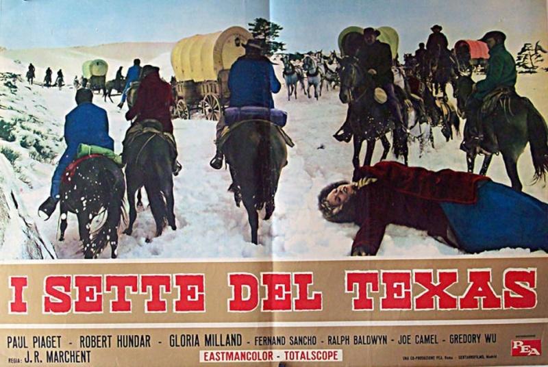 Les sept du Texas - Antes llega la muerte - 1964 - J.L. Romero Marchent 12003610