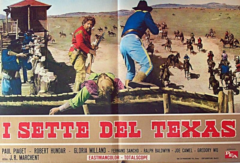 Les sept du Texas - Antes llega la muerte - 1964 - J.L. Romero Marchent 12003710