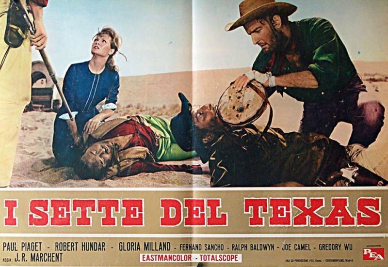 Les sept du Texas - Antes llega la muerte - 1964 - J.L. Romero Marchent 12003910