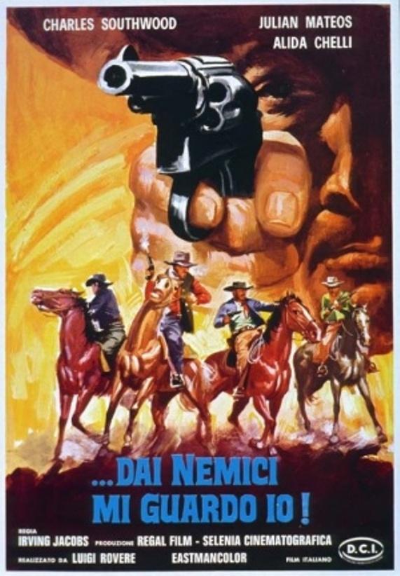 Mes ennemis, je m'en garde ( Dai Nemici mi Guardo io ! ) –1968- Mario AMENDOLA Nemici10