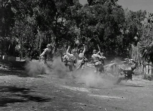 Aventures en Birmanie. Objective, Burma! 1945. Raoul Walsh. Vlcsna88