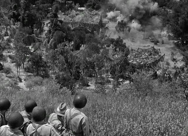Aventures en Birmanie. Objective, Burma! 1945. Raoul Walsh. Vlcsna89