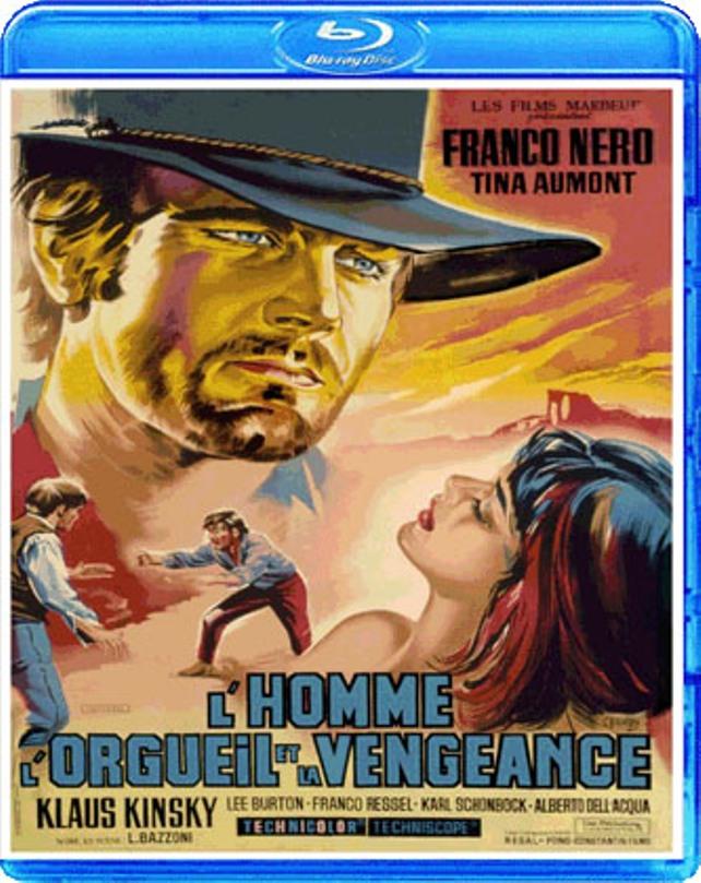 L'homme , l'orgueil et la vengeance . L'uomo, l'orgoglio, la vendetta . 1967 . Luigi Bazzoni . W9zje710