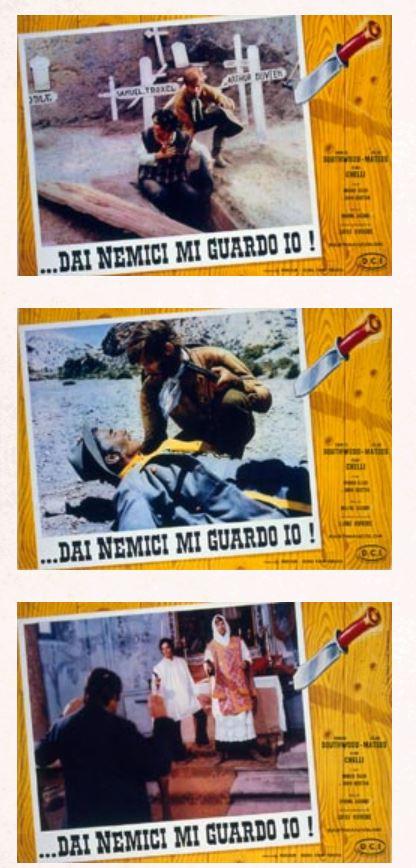 Mes ennemis, je m'en garde ( Dai Nemici mi Guardo io ! ) –1968- Mario AMENDOLA Captur10