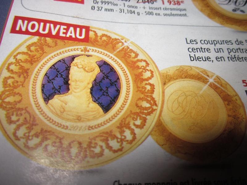 Pièces au portrait de Marie-Antoinette éditées à la Monnaie de Paris Img_0220