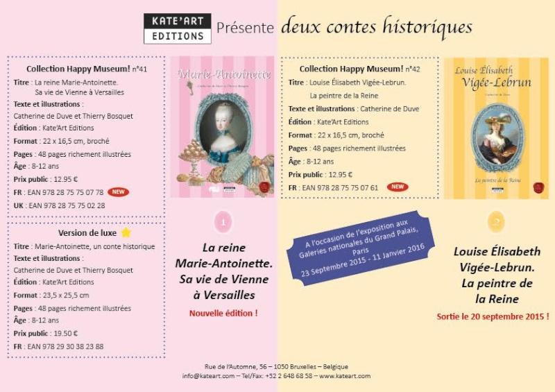 MARIE ANTOINETTE : Livres pour la jeunesse Prysen10