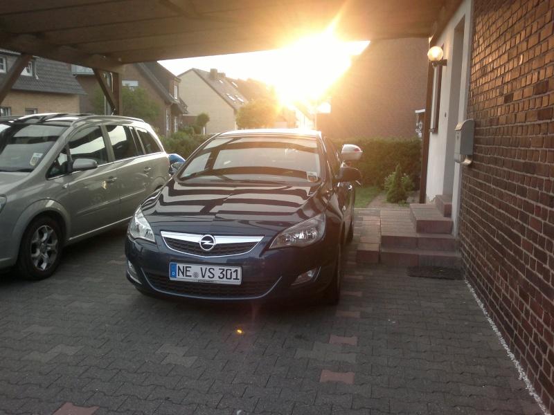 Mein neuer Astra j (: 07062010