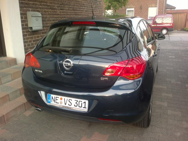 Mein neuer Astra j (: 07062011