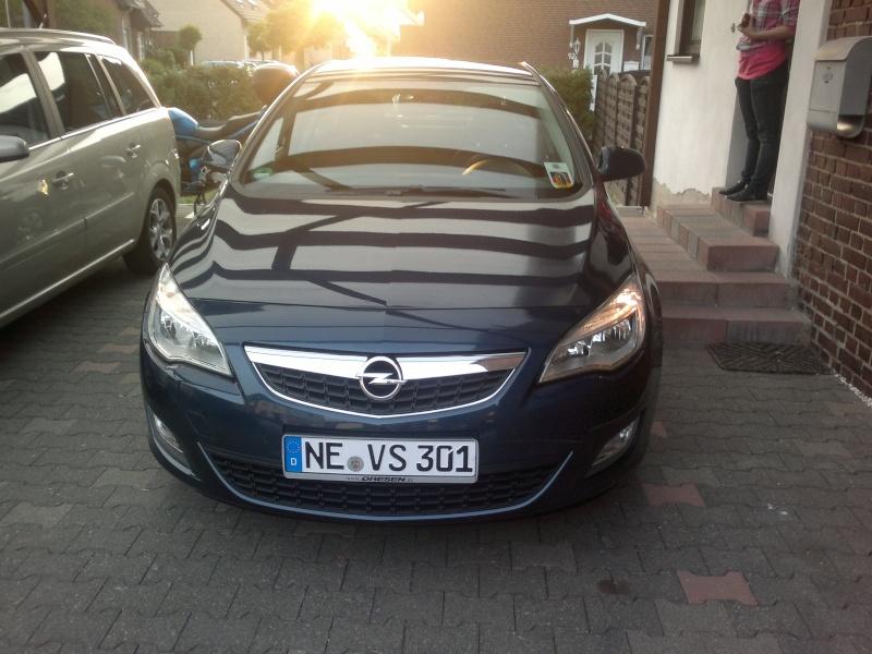 Mein neuer Astra j (: 07062012