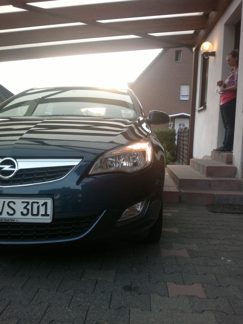 Mein neuer Astra j (: 07062013