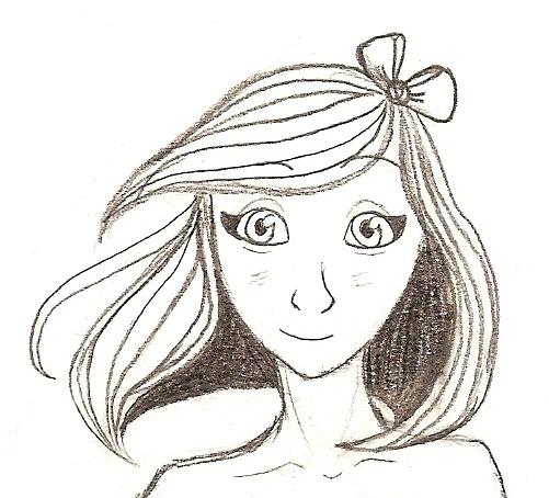 """Visage. Début de mon addiction aux dessins de carrés plongeants (coiffure -_-"""") [noony4] Numari11"""