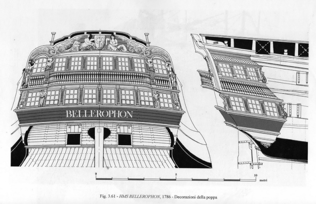 Architettura navale inglese e francese - due marinerie a confronto Decora10