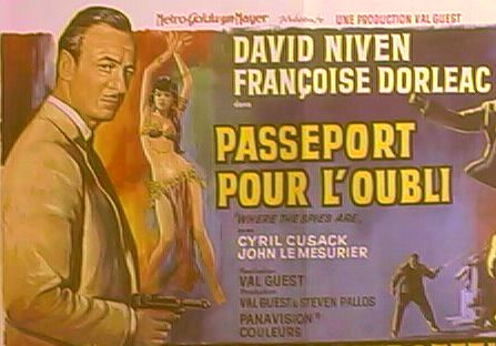Passeport pour l'oubli- Where the spies are - 1966- Val Guest Where_10