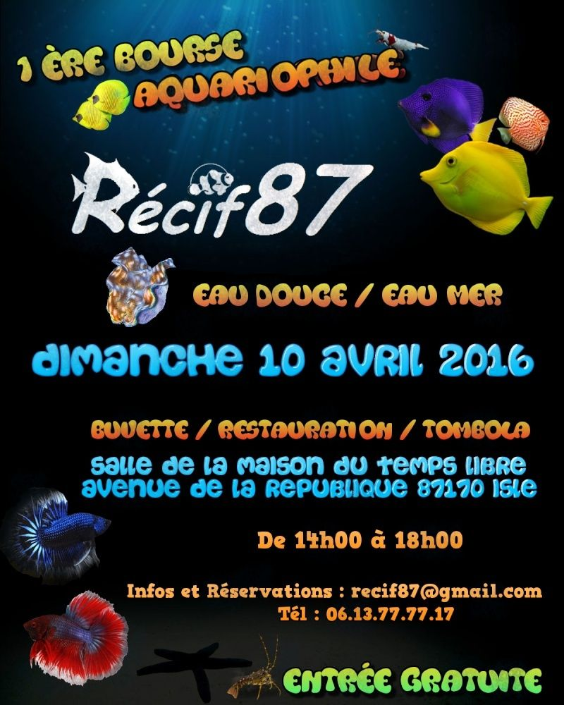 Bourse Association Recif87 Affich22