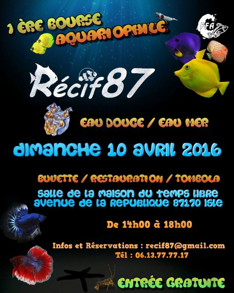Bourse Association Recif87 Affich23