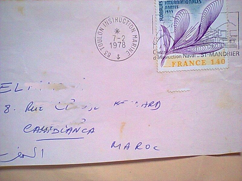Timbres sur papier ou enveloppe datés Timbre33