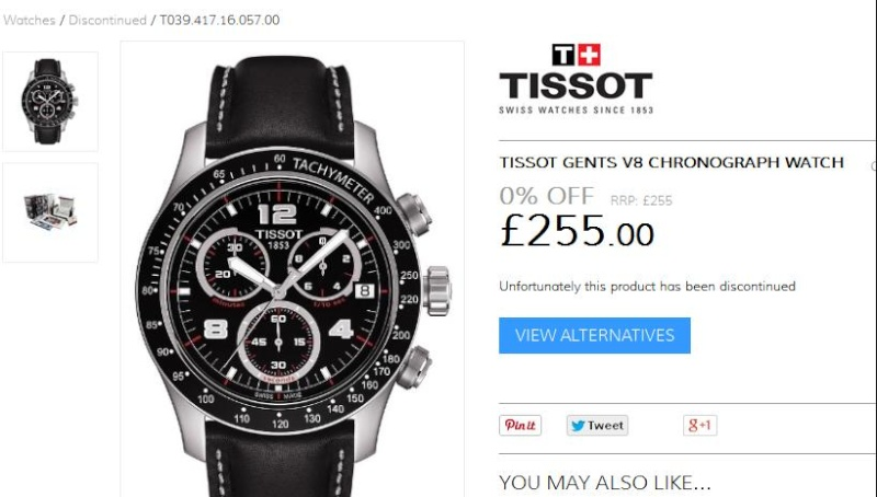 je vend belle montre tissot Tissot10