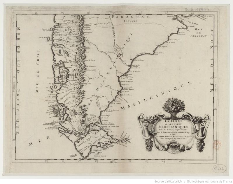 La Patagonie sur le site GALLICA de la BNF Btv1b812
