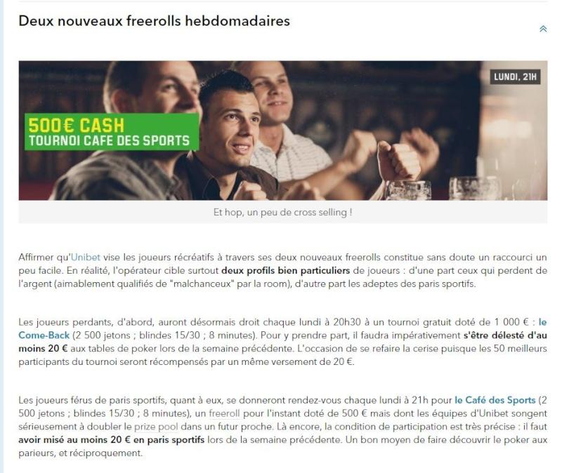 Actualité poker Unibet10