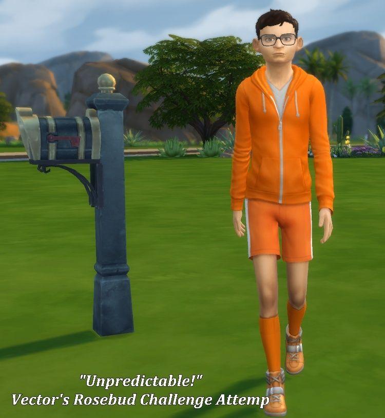 """Unpredictable!"" Vector's Rosebud Challenge Attempt 08-25-10"