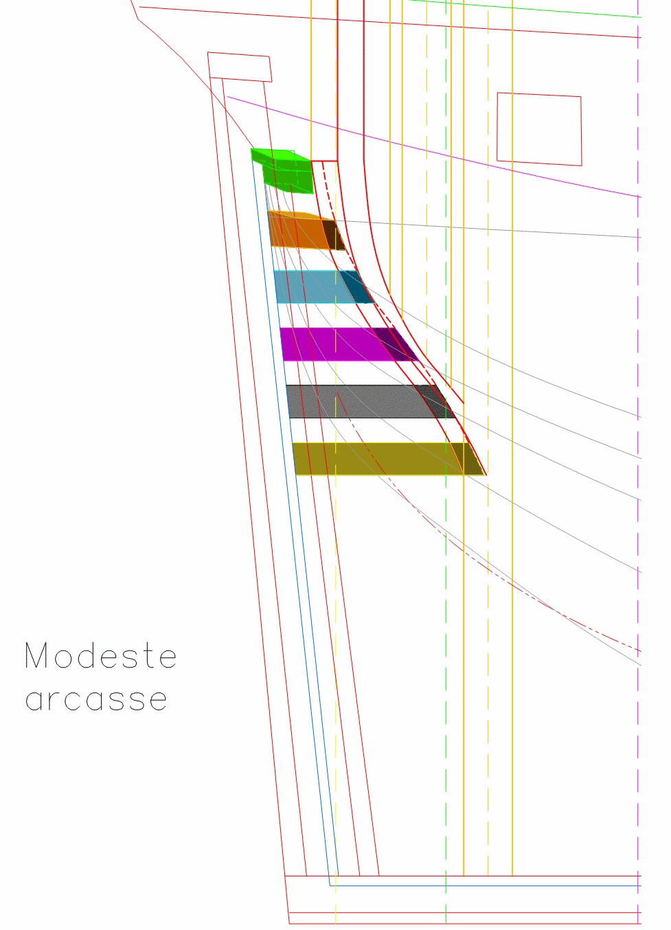 Le Modeste (1759) couples de levée - Page 3 Arcass11