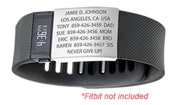 Road ID - bracelet d'identification Road210