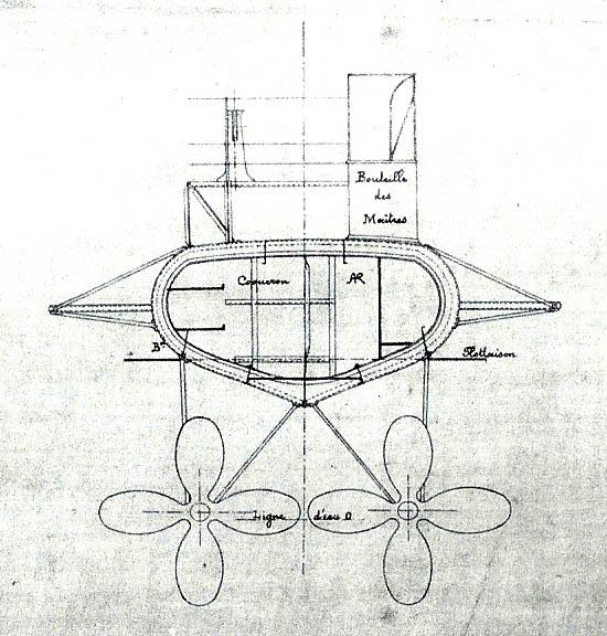 Aviso torpilleur 1905 en Scratch intégral au 1/100ème - Page 7 Numyri10