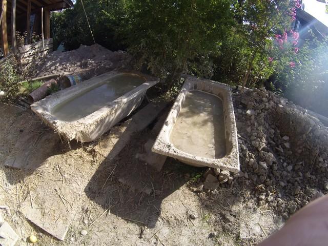 Construction seul et avec matériaux de récupération 6110