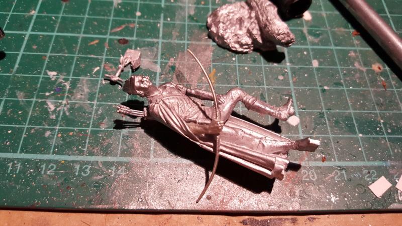Erol Flynn-Robin Hood, König der Vagabunden von Andrea 54 mm 20150820