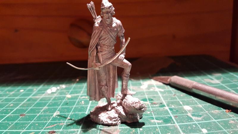 Erol Flynn-Robin Hood, König der Vagabunden von Andrea 54 mm 20150821
